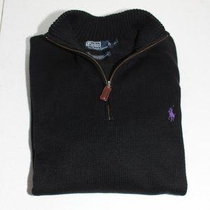Polo Ralph Lauren 1/2 Zip Knit Pullover Sweater